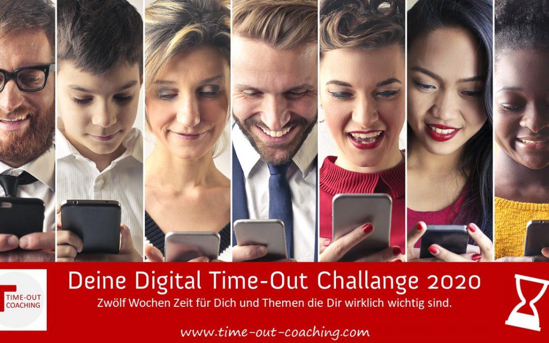Deine Digital Time-Out Challange 2020